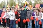 Открытие малых олимпийских игр 26 школы на площади. Фото_21