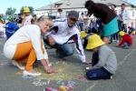 Конкурс рисунков на асфальте в День защиты детей. Фото_13