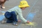 Конкурс рисунков на асфальте в День защиты детей. Фото_15
