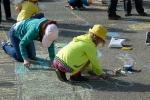 Конкурс рисунков на асфальте в День защиты детей. Фото_18