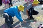 Конкурс рисунков на асфальте в День защиты детей. Фото_23