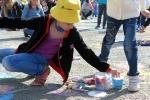 Конкурс рисунков на асфальте в День защиты детей. Фото_29