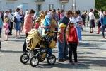Конкурс рисунков на асфальте в День защиты детей. Фото_33