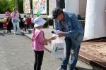 Конкурс рисунков на асфальте в День защиты детей. Фото_37