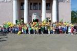 Конкурс рисунков на асфальте в День защиты детей. Фото_40