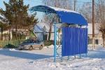 Новая автобусная остановка на Ветлечебнице